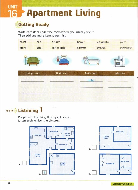 tactics for listening apartment living