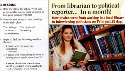 from librarian to political reporter